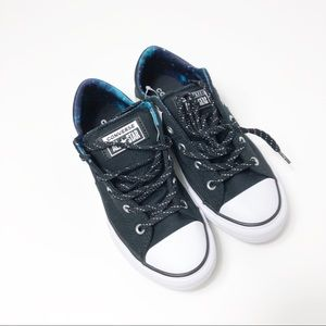 NWT Converse black sneakers